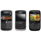 BlackBerry Bold 9000, BlackBerry Curve 8900 и BlackBerry Curve 8520