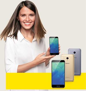 Евросеть» предлагает смартфон Meizu M5s за 580 рублей в месяц